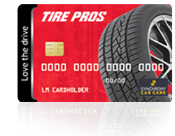 Tire Pros Preferred Customer Credit Card